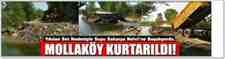 Mollaköy Göletleri'ne SASKİ MÜüdahale Etti!!