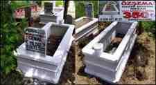 Kışlaçay Aile Mezarlığı Özşema Mozaik Mezar İle Düzenli Görünüyor!!