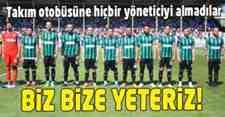 TÜRKİYE'DE BİR İLK!Futbolcular Yönetimi İstemiyoruz Dediler!!