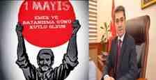 Arifiye Kaymakamı YAZICI'dan 1 Mayıs Mesajı!!