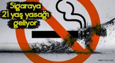 Sigaraya 21 Yaş Yasağımı Geliyor!