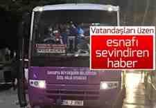 Kışlaçay -Mollaköy-Şekerler Otobüs Fiyatları Zamlandı!