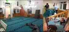 Kışlaçay Mahallesin'de Cami Halıları Yenilendi!