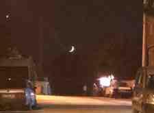 15 Temmuz'da Duygulandıran Ay Ve Yıldız Yakınlaşması!