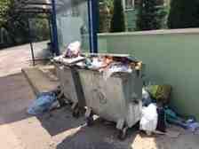 Kışlaçay Mahallesi Bayram'da Çöplere Tepkili!