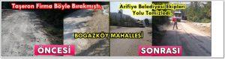 Boğazköy'den Gelen Şikayet Arifiye Belediye Ekiplerini Harekete Geçirdi!