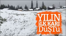 Sakarya'da Yılın İlk Karı Yükseklere Yağdı Kar kalınlığı 5 cm'e Ulaştı!