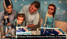 Kışlaçay Medya'nın Prensesi Elif Omay 3 Yaşında!!