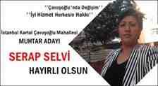 Serap Selvi Çavuşoğlu Mahallesine Muhtar Adaylığını Açıkladı!
