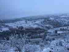 Mahallemizin Yüksek Kesimlerinde Kar Yağışı Başladı!