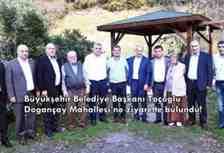 Büyükşehir Belediye Başkanı Toçoğlu, Doğançay Mahallesi'ne ziyarette bulundu!