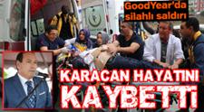 Lastik-İş Sendikası Başkanı Abdullah Karacan Yaşamını Kaybetti!