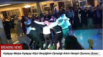 Kışlaçay Köyü Gençliği Hemşin Oyunu Tıklama Rekoru Kırıyor!