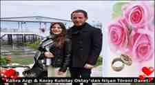 Kübra Azgı & Koray Kubilay Oktay'dan Nişan Töreni Davet!