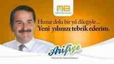 Arifiye Belediyesi Başkanı İsmail Karakullukçu'dan Yeni Yıl Mesajı!