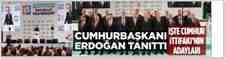 Başkan Erdoğan, Sakarya İlçe Belediye Başkan Adaylarını Açıkladı!