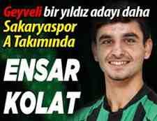 Ensar Kolat Sakaryaspor A Takımın'da!
