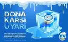 Dikkat: Kışlaçay Saski'den Tesisat Ve Sayaçlar İçin Don Uyarısı!