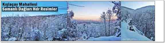 İşte Kışlaçay'dan Kar Fotoğrafları. . .