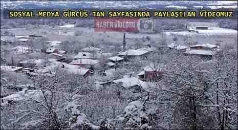Gürcü Halk Müziği Eşliğinde Kışlaçay Yeni Kar Manzaralı Slayt (Video)