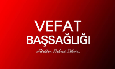 Boğazköy'de Vefat İlanı Mehmet Tüysüz'ü Kaybettik!