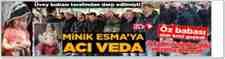 Minik Esma'ya Son Veda Nuriosmaniye'de Gözyaşları Sel Oldu!