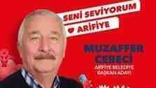 CHP'nin Arifiye adayı İlçe Seçim'den döndü.