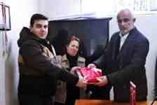 BBP Gümüşhane Meclis Üyesi Yüsküp'den Cemal Aldemir'e Ziyaret!