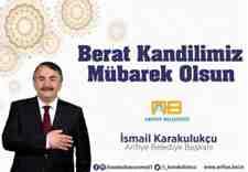 Arifiye Belediye Başkanımız Karakullukçu'dan Beraat Kandili Mesajı!