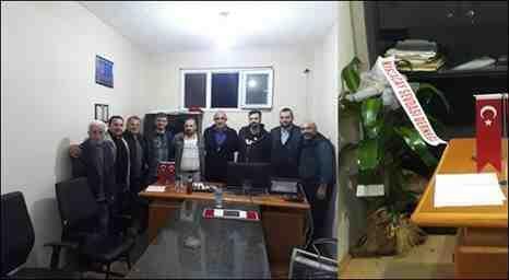 Kışlaçay Sevdası Derneğin'den Muhtar Aldemir'e Hayırlı Olsun Ziyareti!