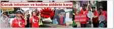 Çocuk İstismarına Ve Kadına Şiddete Karşı Düdüklü Protesto!