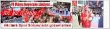 Atatürk Kapalı Spor Salonunda 19 Mayıs'da Gençlik Ve Spor Bayramından Görsel Şölen