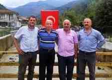 """Arifiye Muhtar Derneği Başkanı """"YAVUZ""""dan Geçmiş Olsun Ziyareti!"""