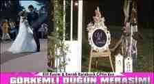 Elif Kesim & Emrah Karabıyık Çifti Dünya Evine Girdi!