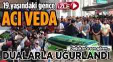 Doğukan Sarıoğlu'nun Cenazesinde Gözyaşları Sel Oldu!