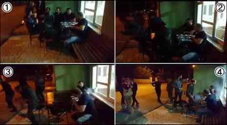 Kışlaçay'da Sıradan Bir Gün Bayramda En Çok İzlenen Video Oldu!