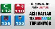 Dikkat : Polis İçin Artık 112'yi Arıyacağız!