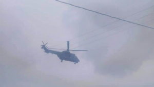 Kışlaçay Semalarında Helikopter Sel Mağdurlarını Sakarya'ya Getirdi!
