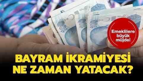 2019Yılı Kurban Bayramı Emekliİkramiyesi Ödemesi!
