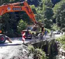 Kışlaçay Ve Boğazköy Mahallesi Geçiş Köprüsü Onarılıyor!