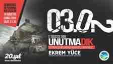 Asrın Depreminin 20 Yılı 16 Ağustos Saat 21:30'da Meydanda Anılacak!