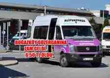 Adapazarı – Boğazköy Minibüs Ücretine Zam Ve İndirim Geldi!