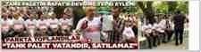 "Tank Palet'in Asfat'a Devrine Tepki Eylemi ""Parkta Toplandılar"""