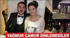Komşu Boğazköy'de Yağmur Altında Mükemmel Düğün Gecesi!!!