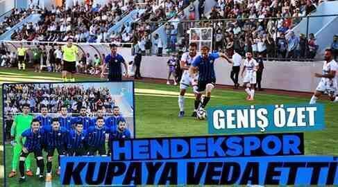 Ziraat Türkiye Kupası Maltepespor 1-0 Hendekspor(Maç Özeti)