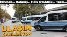 Minibüs-Dolmuş-Otobüs-Taksi Bayram'dan Sonra Ulaşım Zamlanıyor!