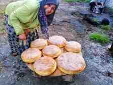 Kışlaçay Mahallesin'de Hava Bahane Köy Ekmeği Şahane!