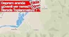 Deprem Anında Boğazköy-Kışlaçay-Çınardibi'de Güvenli Yer Neresi?