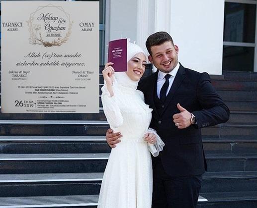 Mehtap Tarakcı & Oğuzhan Omay Çiftinden Düğüne Davet!