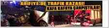 Arifiye'de Trafik Kazası 2 Kişi Yaralı!